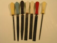 7pc File Lot With Handles