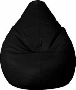Large Bean Bag Cover Leatherette L-XXXL Size Without Beans