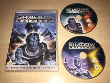 SHADOW RAIDERS COMPLETE 2ND SECOND SEASON SERIES 2 TWO DVD CGI ANIMATED TV SHOW