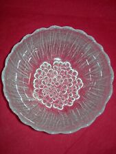 Scandinavian Heavy Clear Glass Decorative Bowl Floral Base FREEPOST