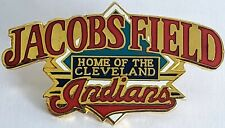 CLEVELAND INDIANS Jacobs Field Home Of The Indians Lapel Pin Tac Vintage NWT1995