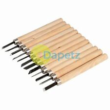 12Pce Wood Carving Set 135mm Ideal For Wood, Clay And Wax Carving Projects