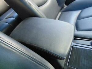 MAZDA 6 BLACK LEATHER LID CONSOLE/ CUP HOLDER, SILVER STRIPES, GH, 02/08-11/12