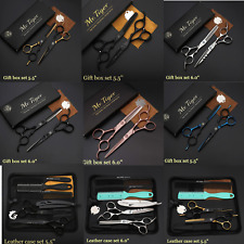 Original 5.5 6.0 Professional Barber Scissors Hairdressing Hair Cutting Set