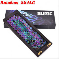 SUMC SX11SL 9-10-11Speed 116-Links Road / MTB Super Lightweight Coating Chain
