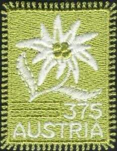 Austria 2005 Embroidery/Sewing/Craft   Embroidered Cloth Stamp 1v s/a (at1175a)