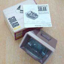 Purple Vintage PHOTAX SOLAR 3 35mm Slide Viewer