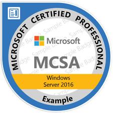 MCSA:70-740 Installation, Storage, and computer with Windows Server 2016, QA PDF