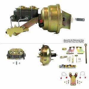 "67-72 Chevy Truck FW Mount Power 11"" Dual Diaphragm Brake Booster Kit Disc/Disc"