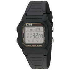 Casio Men W800HG-9AV Digital Sport Chrono Wrist Watch Black NEW