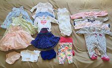 Newborn Baby Girl Clothes Lot