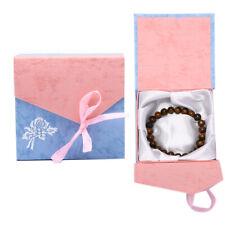 Trendy Jewelry Box Bracelet Bangle Necklace Pendant Gift Display Case Wedd xyu