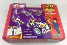 Knex  00004000 20 Model Building Set From 2001 259 Pieces 47450 12030