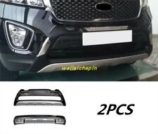 Car Front+Rear Bumper Board Guard Turbo Lip Protect For KLA Sorento 2015-2019
