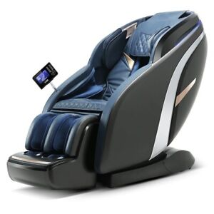 Luxury Zero Gravity 4DElectric Heated Vibration SL-Track Full Body Massage Chair