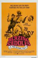 """BLAZING SADDLES"" Movie Poster [Licensed-NEW-USA] 27x40"" Theater Size (1974) (B)"