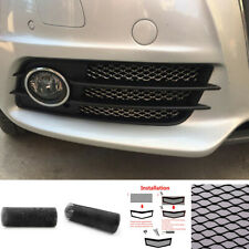 DIY Can Be Cutted 40''x13'' Car Black Aluminum Hexagonal Soft Grille Mesh Grill