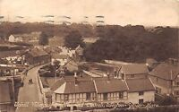 POSTCARD   SOMERSET  WESTON  SUPER  MARE   UPHILL  Village  from the Old  Church