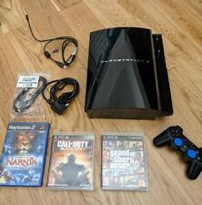 Sony PlayStation 3 PS3 60GB CECHC03 Backwards Compatible PS1/PS2 - Works Well!