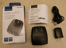 Open-Box Excellent: Insignia- HDMI to RCA Converter - Black - Free Shipping - B2