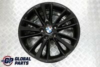 "BMW E81 E82 E87 Black Front Alloy Wheel Rim 18"" 7,5J ET:49 W-Spoke 263 6779794"