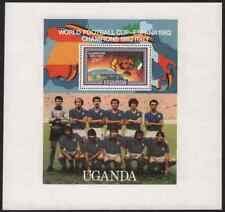 Uganda 1982 World Cup Soccer SS perforated proof-1