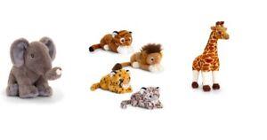 KEEL SOFT TOYS - KEELECO 100% RECYCLED - KEELECO WILD ANIMALS - LION - TURTLE