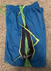 Nike Boys Swim Trunks/Shorts Blue size XL With Lining
