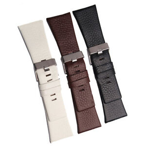 New Genuine Leather Watch Strap Band Replacement Fits For Diesel Watch All Size