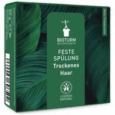 BIOTURM:  Feste Spülung - trockenes Haar, 60 g, Naturkosmetik, plastikfrei