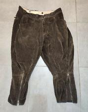 WW2  Ancien pantalon culotte en velours côtelé japan