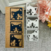 Cute Dog Metal Cutting Dies Stencil Scrapbooking Album Paper Card Craft DIY