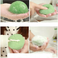 3pcs Lot Natural Sponge Konjac Konnyaku Fiber Face Wash Cleanse Puff Exfoliator