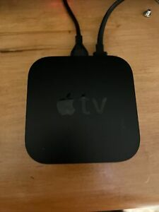 Apple TV (4th Generation) Model: A1625 - 32GB HD Media Streamer, Black #U8984