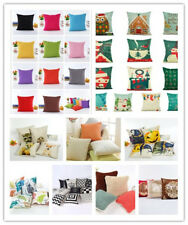 "Fashio Solid Nap Cushion Cover Home Decor Bed Sofa Throw Pillow Case 18""x18"""