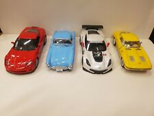 Bundle of 4 x kinsmart Chevrolet Corvette TOY cars collection models diecast new