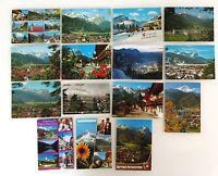 15 x GARMISCH-PARTENKIRCHEN Bayern Postkarten Sammlung AK gelaufen ab/nach 1959
