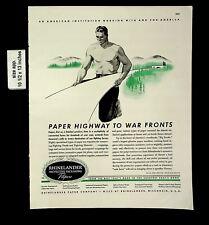 1944 Rhinelander Protective Packaging Vintage Print Ad 20135