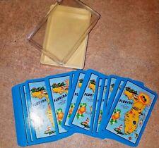 FLORIDA THE SUNSHINE STATE PLAYING CARDS IN HARD CASE HONG KONG W/ 2 JACKS