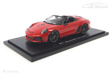 Porsche 911 (991 II) Speedster Concept Indischrot Spark 1:18 WAX02100043