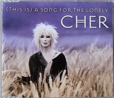 CHER * (THIS IS) A SONG FOR THE LONELY * UK 1 TRK PROMO CD * HTF! * LIVING PROOF