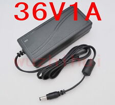 AC 100V-240V Converter Adapter DC 36V 1A 36W Power Supply Charger DC 5.5mm New
