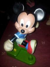 Vintage Retro Disney Mickey Mouse patear bola Juguete Arco De Fútbol