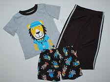 Schlafanzug~USA~Carter's~3 tlg.~86-92~Pyjama~Nachtwäsche~ Löwe~kurz~Amerika