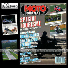 MOTO JOURNAL N°847 DUCATI 750 S CAGIVA 125 BLUES & CRUISE GRAND PRIX IMOLA 1988
