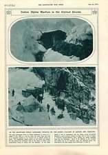 1916 ISONZO Cadore TRENTINO LE TRUPPE ITALIANE