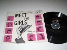 45rpm EP w/Pic Sleeve VARIOUS ART Meet The Girls RCA SPA 7-21 VG++/NM- Kay Starr