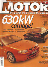 Motor Jul 00 HSV Clubsport W203 C Class Jaguar XJR Cobra Mustang CSV Veloce HSV