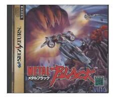 Metal Black Sega Saturn SS Import Japan