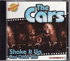 """THE CARS """"SHAKE IT UP AND OTHER HITS"""" CD 2001 flashback"""